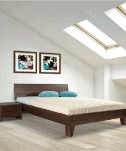 Houten bed wengé
