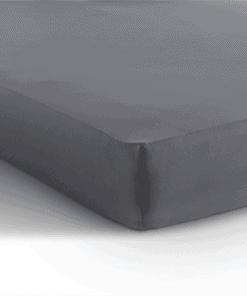 Jersey hoeslaken matras - antraciet