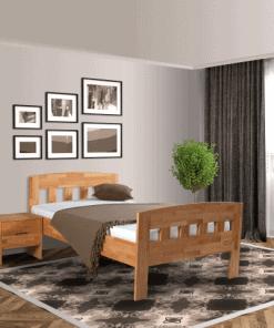 Senioren bed comfort compleet beuken