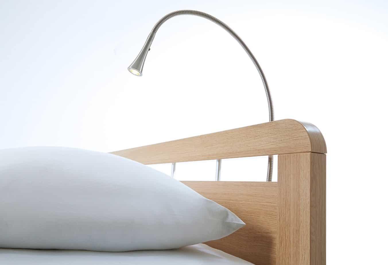 Bedlamp Tulip Mat Chrome