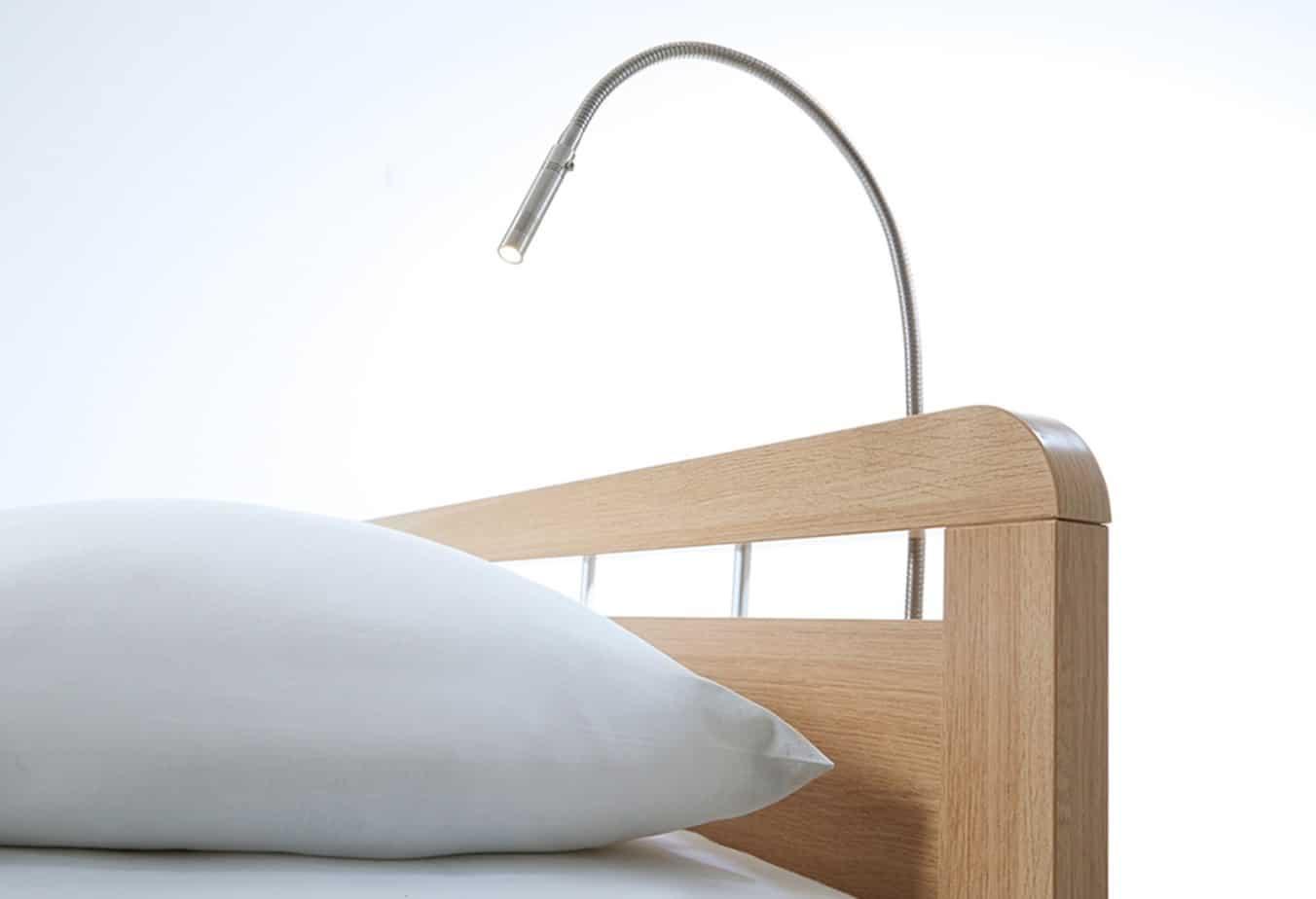 Bedlamp Stripe Mat Chrome