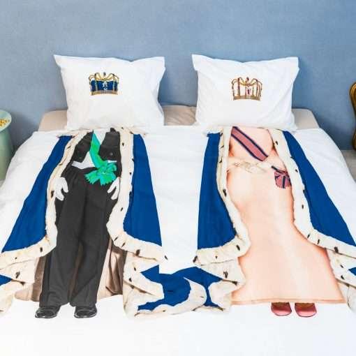 The Royals King&Queen dekbedovertrek