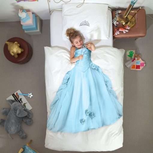Princess Blue dekbedovertrek