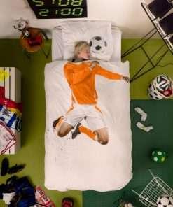 Soccer Champ Orange dekbedovertrek